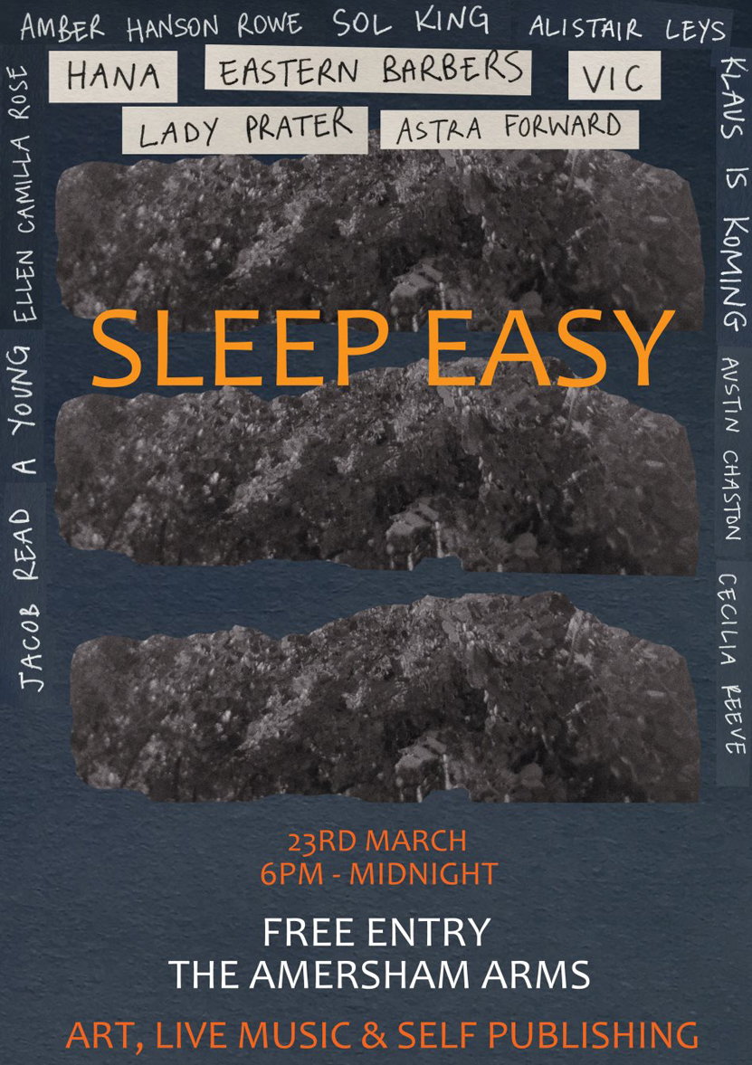 Sleep Easy Poster